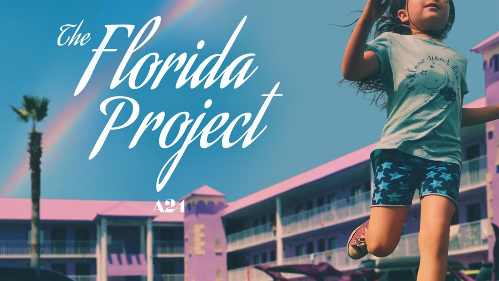 Movie poster for The Florida Project