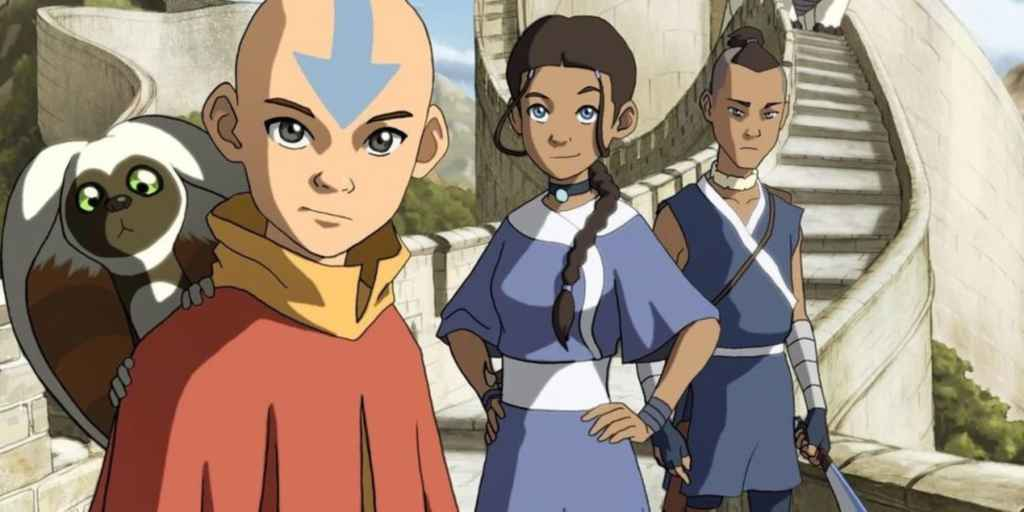 Television poster for Avatar: The Last Airbender
