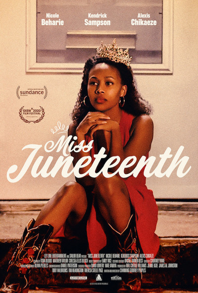 Movie poster for Miss Juneteenth