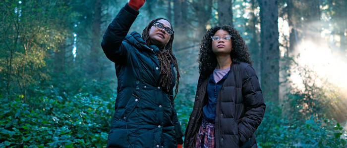 Behind the scenes still from A Wrinkle in Time (2018)- with Ava Duvernay and Storm Reid