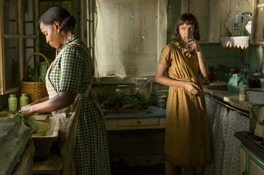 Image still from Mudbound (2017)- with Mary J. Blige and Carey Mulligan.